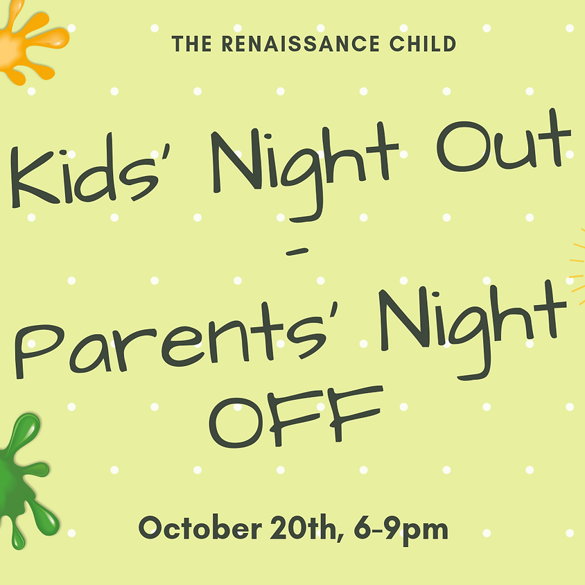 Kids' Night Out -Parents' Night Off