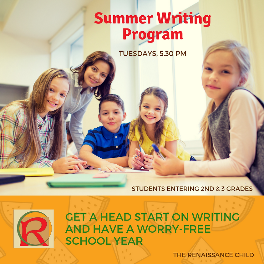 Summer Writing Program (Trial Class)