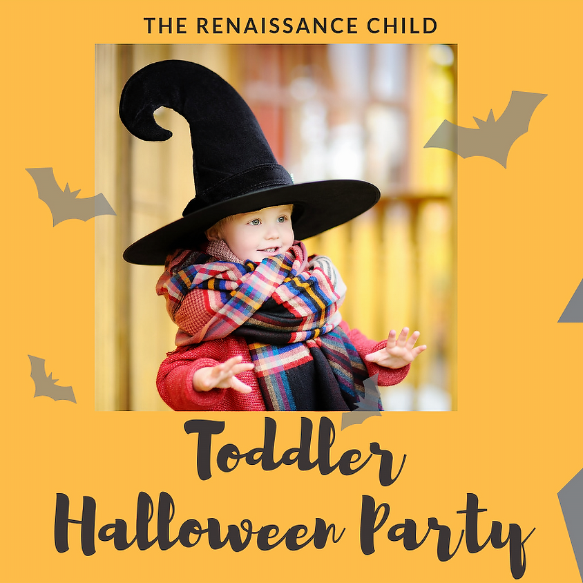 Toddler Halloween Party ( 11.30 am - 1 pm )