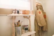 Designed by Marina V. Umali, The Renaissance Child's studio is a Reggio Emilia-inspired space.