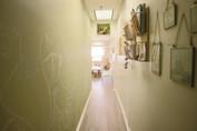 Chalkboard Wall in the hallway