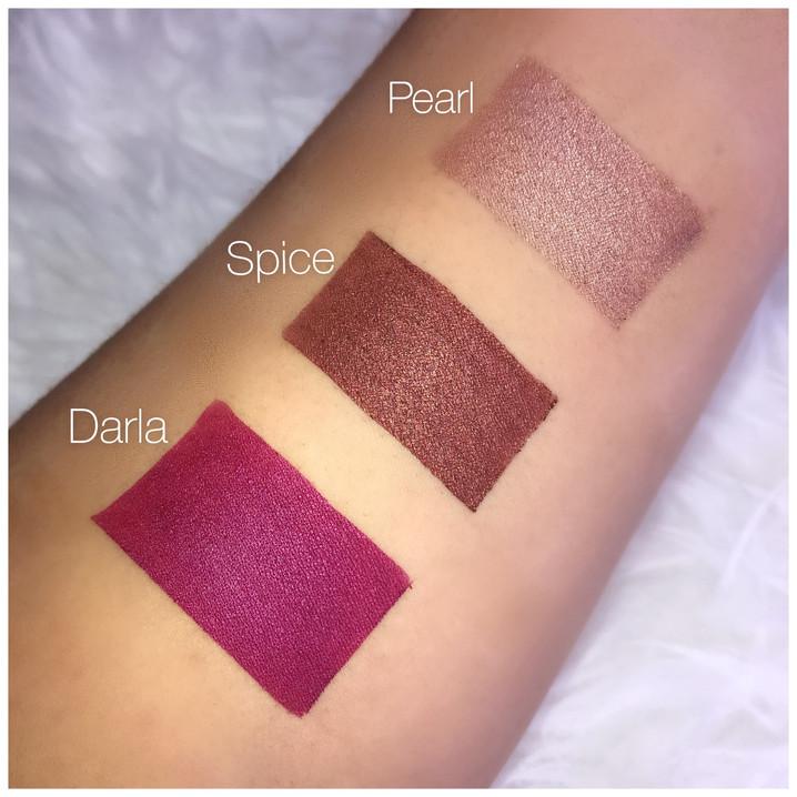 Velvet Matte Shimmer Liquid Lipsticks