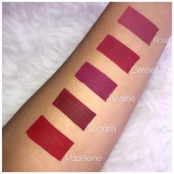 Velvet Matte Liquid Lipsticks