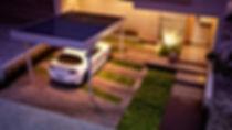 Création d'un carport, abris voiture photovoltaïque