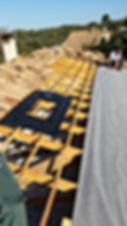 SAV Pignan Réinstallation d'un système photovoltaïque suite à des défautsd'étanchéité
