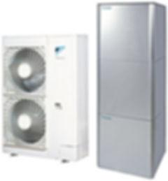 Pompe à chaleur Air Eau avec ECS intégrée