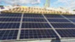 Installation à Saint Gely du Fesc Réinstallation d'un système photovoltaïquesuite à la reconstruction d'un bâtiment