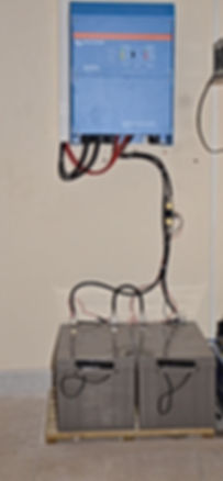 Batterie gel plomb pour site isolé photovoltaïque
