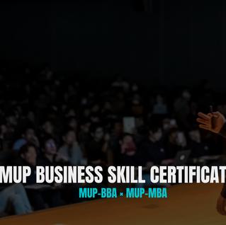 【MUPビジネスカレッジ】卒業カリキュラムのご紹介