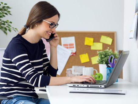 5 Beneficios de trabajar desde casa