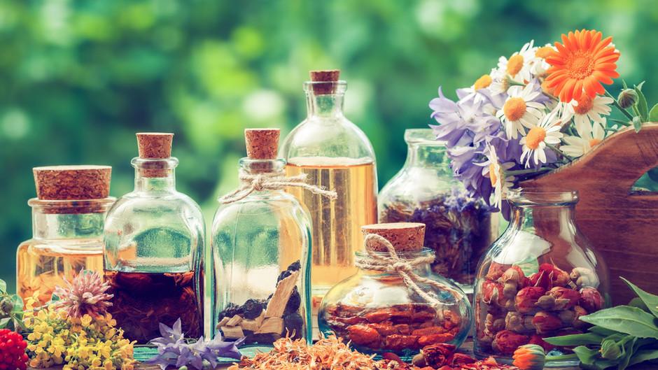 Esencias naturales y tés relajantes para esta cuarentena