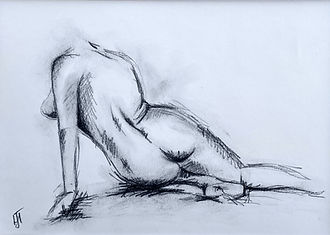 Female Nude Sketch 2