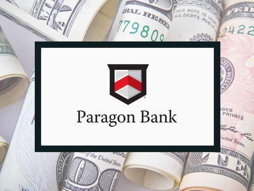Paragon Bank Announces History Making Second Quarter