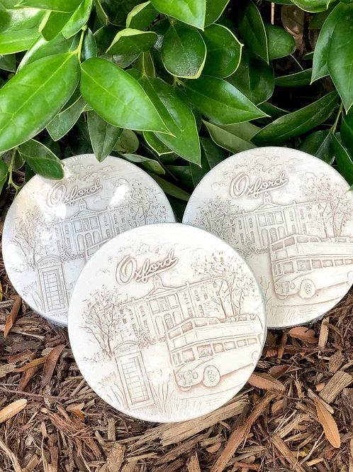 Oxford, MS Coasters Set