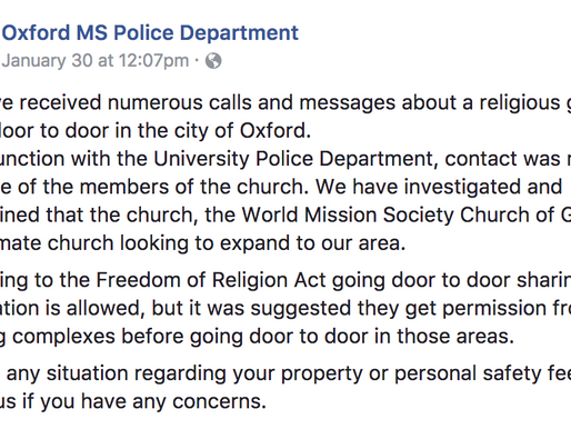 """Stay in the Know: """"Trafficking"""" in Oxford"""