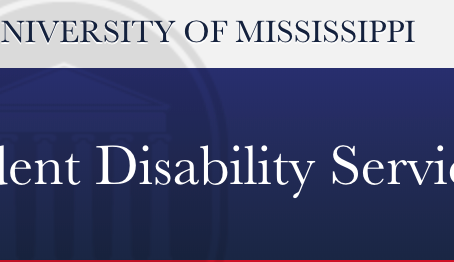 Ole Miss Student Disability Services