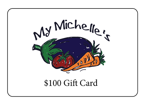 My Michelle's Gift Card