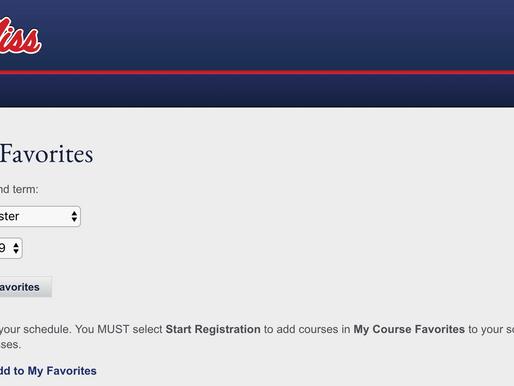 Orientation: Class Registration