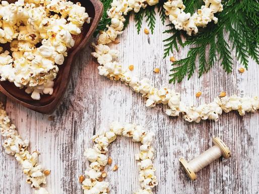 DIY Popcorn Garland