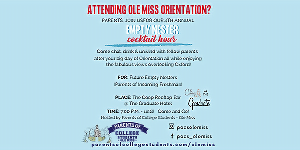 Empty Nester  - Orientation May 17th