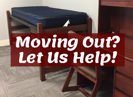 Moving Your Student Out? Let Us Help!