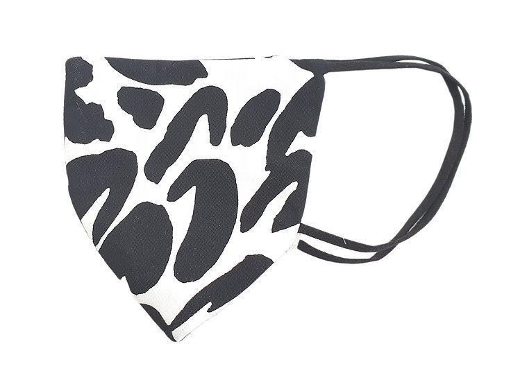 black&white spott mask