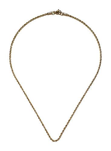 164n twist 45cm necklace