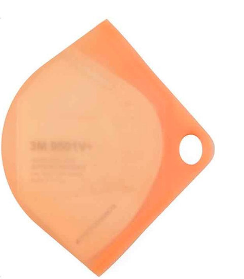 orange  silicon mask case