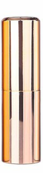 glossy gold Twist Up Spray Bottle Aluminium Portable Refillable alcohol Atomizer