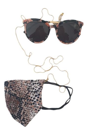 nilu glass & mask cord nc2