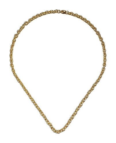 167n ssteel chain necklace 44cm