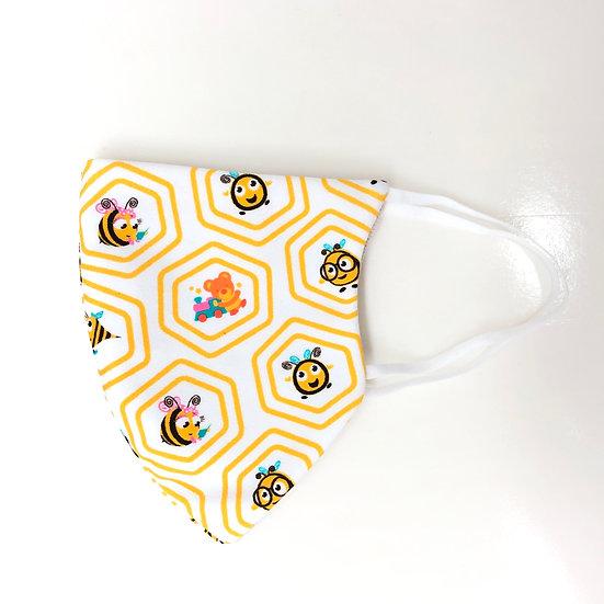 honeybee kids protective fashion mask