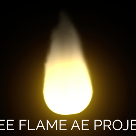 Download our Free Flame After Effects Project (No Plugins Required) Customisable Hot Fire for AE