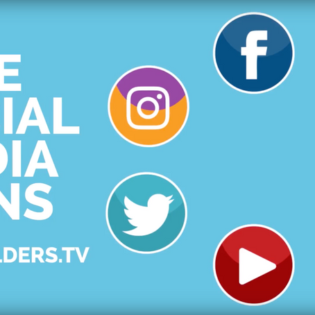 6 FREE animated social media icons