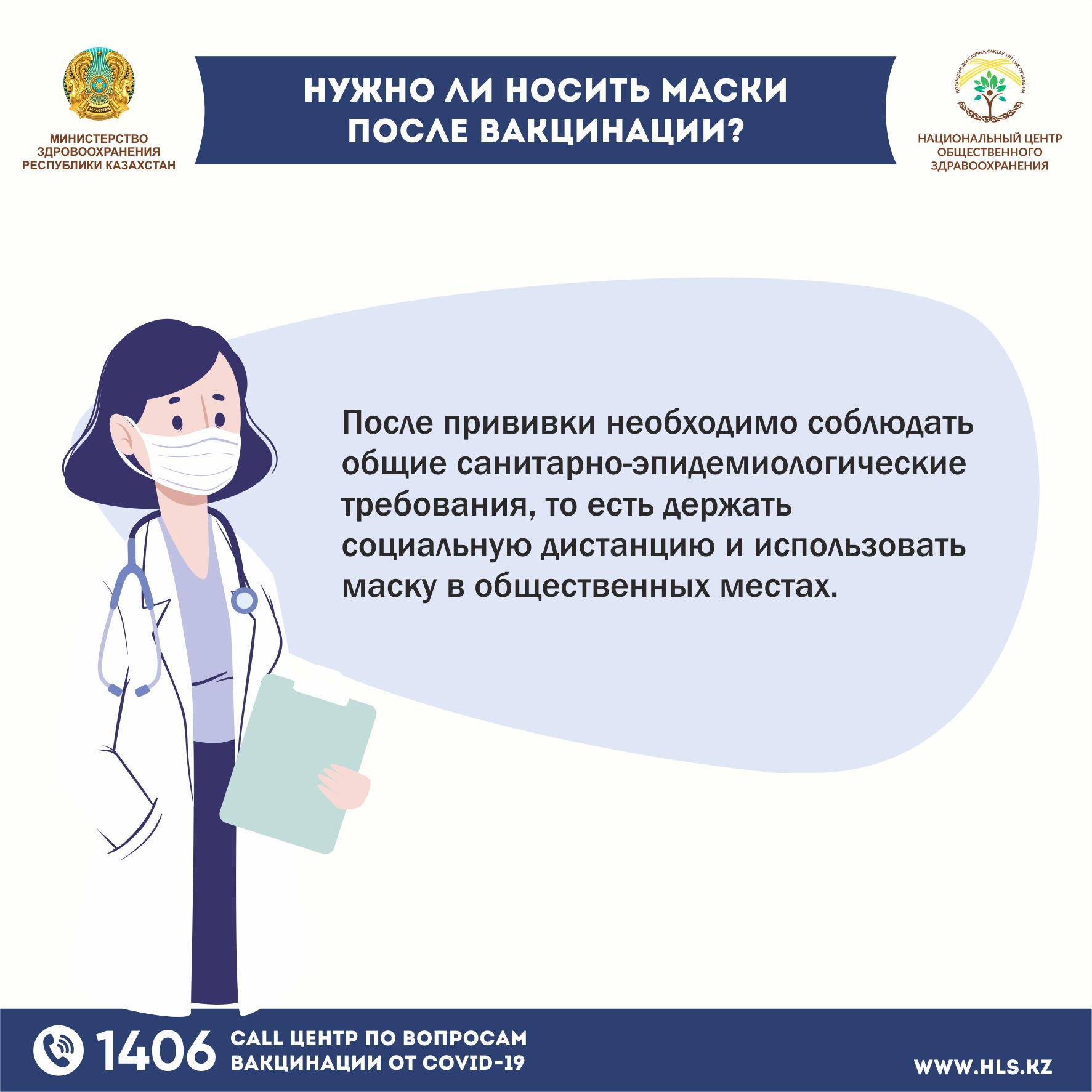 Нужно ли носить маски после вакцинации Р