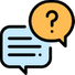 AI chatbot answering questions
