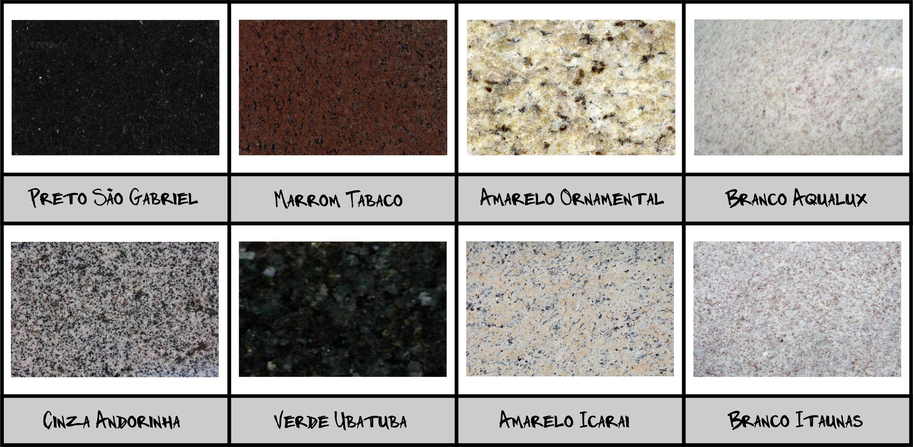 Pedras para bancada qual a mais indicada para cada for Tipos de granitos
