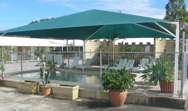 Sandcastle Motel Pool