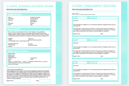 Client Consultation Form and Treatment Record (7)