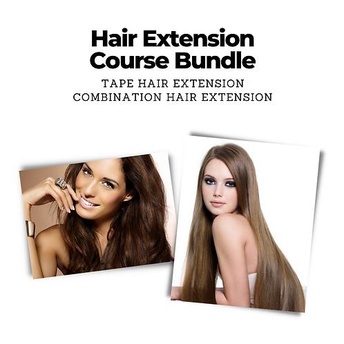 Hair Extensions Course Bundle