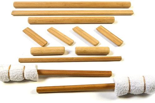Warm Bamboo Massage Kit