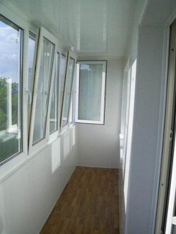 Окна на балкон