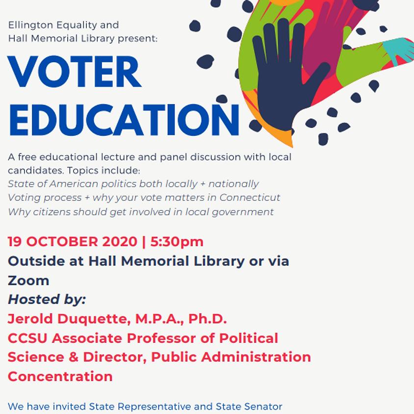 Community Conversation: Voter Education