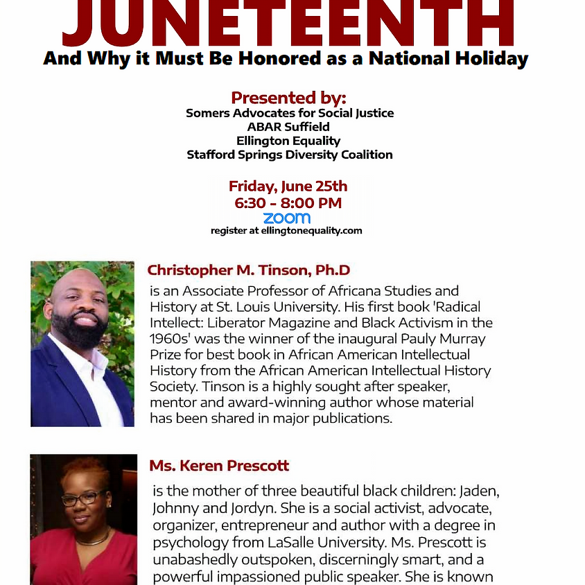 Listening Session 3: The History of Juneteenth