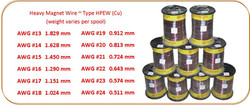 HEAVY MAGNET WIRE - COPPER
