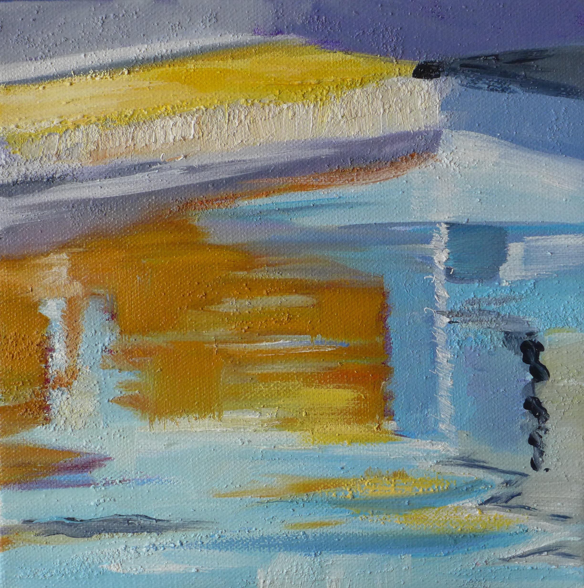 Harbor Abstract 8 x 8 Kamada