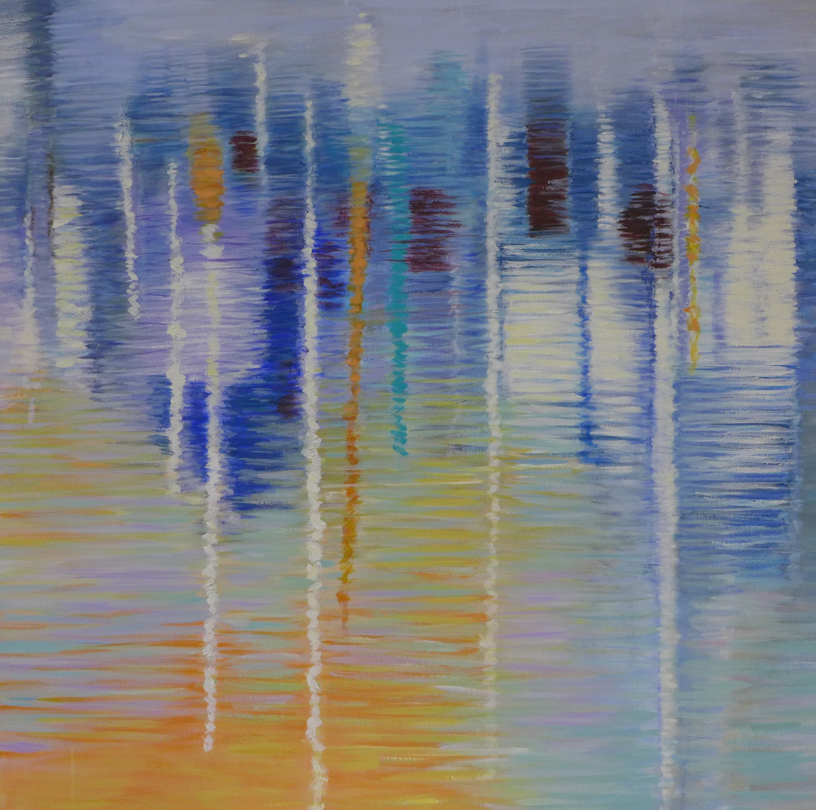 Marina Reflections #6 by Mira Kamada