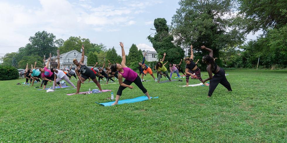 Poolside Yoga with Vibes & Vinyasa