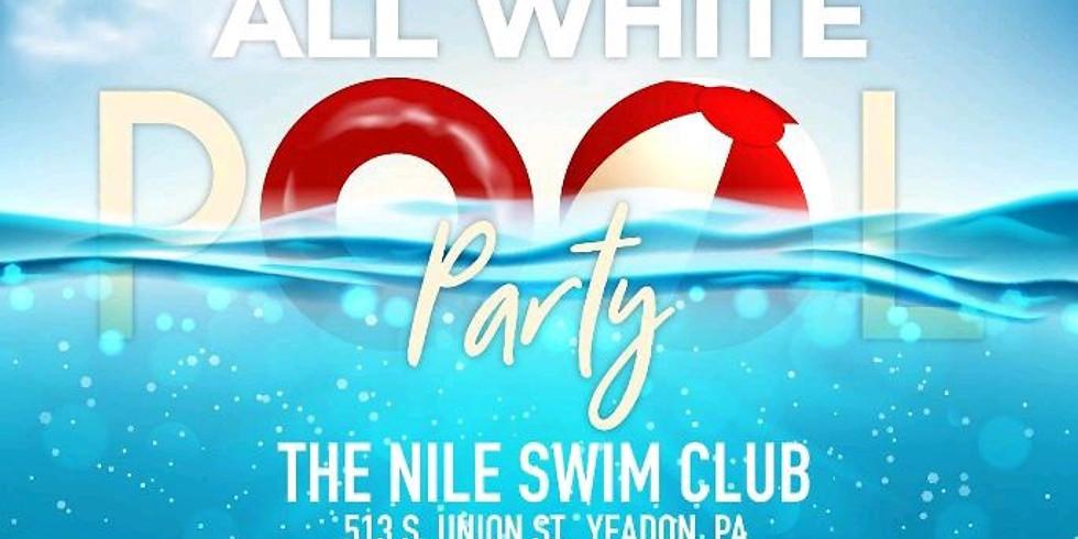 Kappa Alpha Psi All White Pool Party