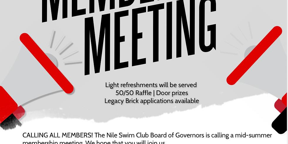 Mid-Summer Membership Meeting